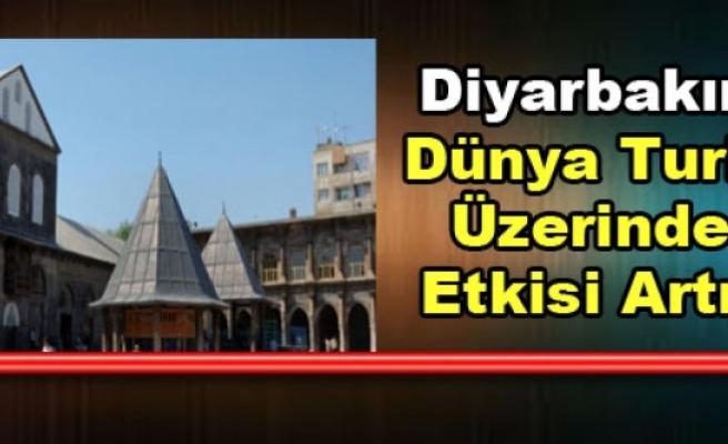 Diyarbakır'ın Dünya Turizm Üzerindeki Etkisi Artıyor