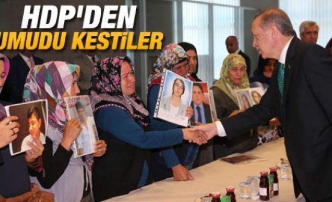 Diyarbakırlı aileler Başbakan Erdoğan ile görüştü