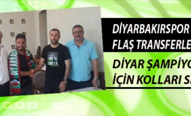 DİYARBAKIRSPOR A.Ş'DEN FLAŞ TRANSFERLER…