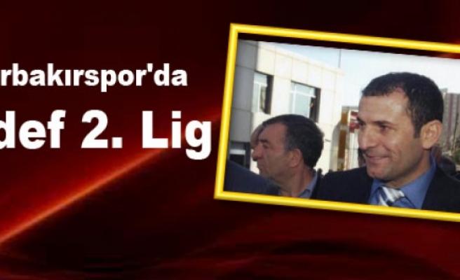 Diyarbakırspor'da Hedef 2. Lig