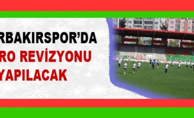 Diyarbakırspor'da Kadro Revizyonu yapılacak
