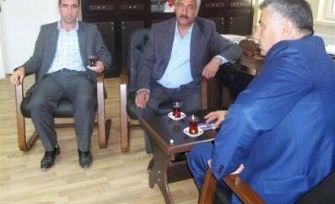 Dolu'dan Başkan Yalçın'a Ziyaret