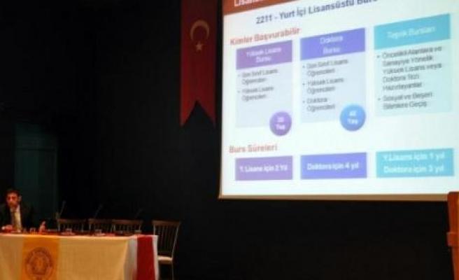 Dü'de Tübitak'ın Burs Ve Destek Programları Tanıtıldı