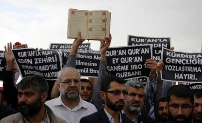 Duman Grubu'nun Diyarbakır'da vereceği konser