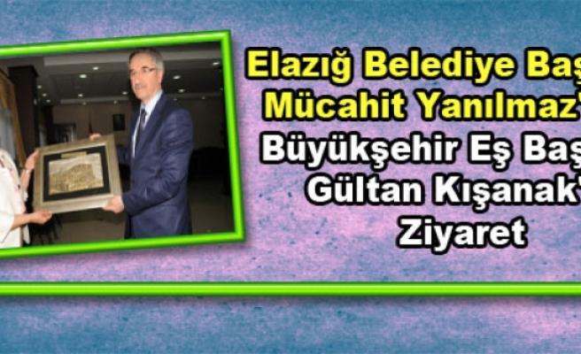 Elazığ Belediye Başkanı Yanılmaz'dan Kışanak'a Ziyaret