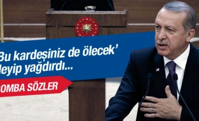 Erdoğan seçimden sonra ilk kez konuştu yağdırdı
