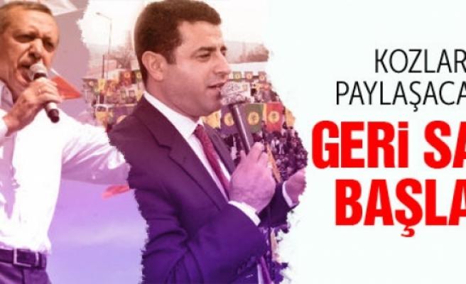 Erdoğan ve Demirtaş kozlarını paylaşacak!