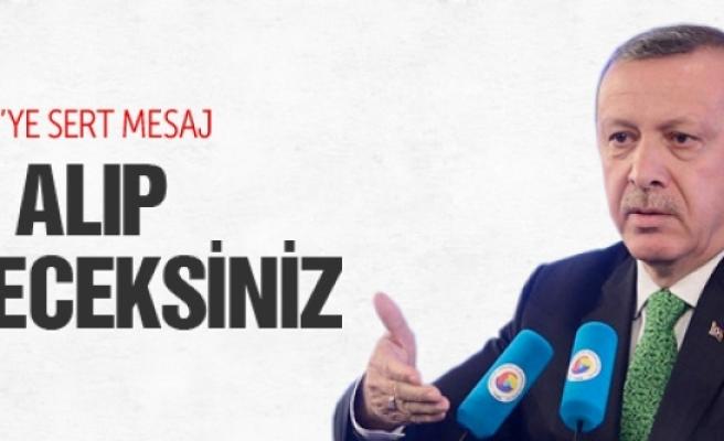 Erdoğan'dan HDP'ye B ve C planı uyarısı