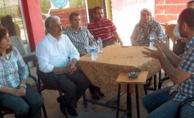 Ergani'de Esnafa Çözüm Süreci Anlatıldı