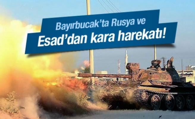 Esad'dan Türkmen bölgesine kara operasyonu!