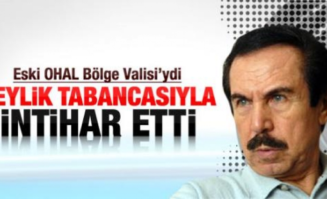 Eski Diyarbakır valisi İntihar Etti