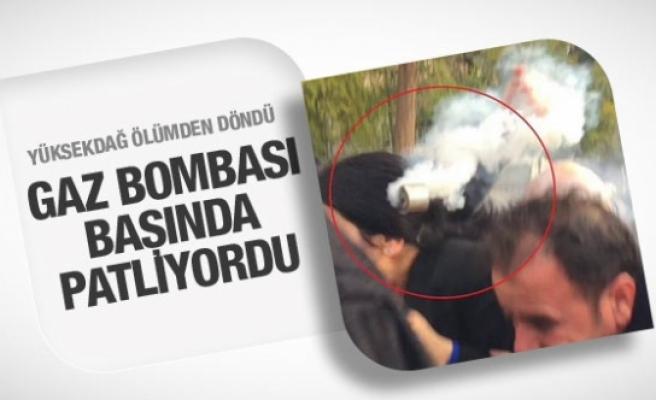 Figen Yüksekdağ Silvan'da ölümden döndü