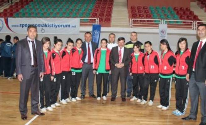 Futsal Heyecanı Diyarbakır'da Başladı
