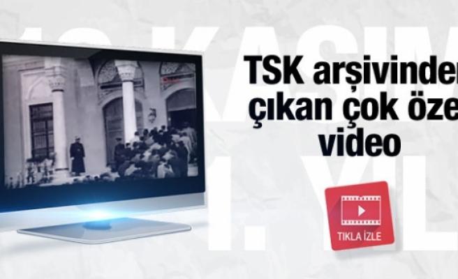 Genelkurmay yayınladı Atatürk'ün çok özel videosu