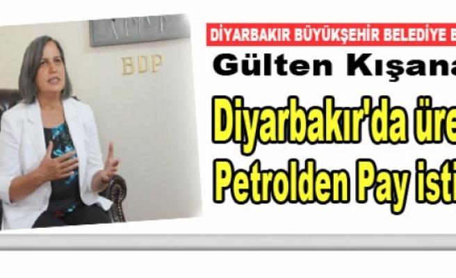 Gülten Kışanak: Diyarbakır'da üretilen petrolden pay istiyoruz