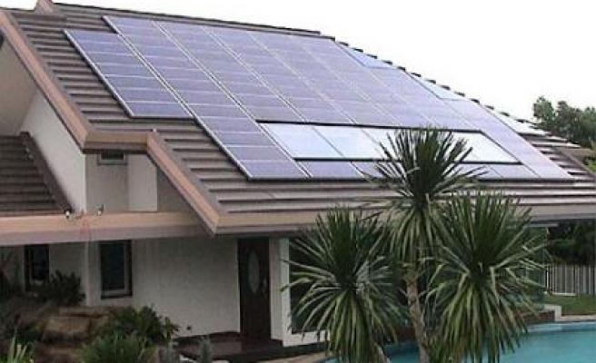 Güneş enerjisiyle çatıda elektrik üretimi önerisi