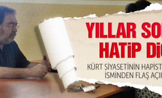 Hatip Dicle: Erdoğan çözüm istiyor ama.