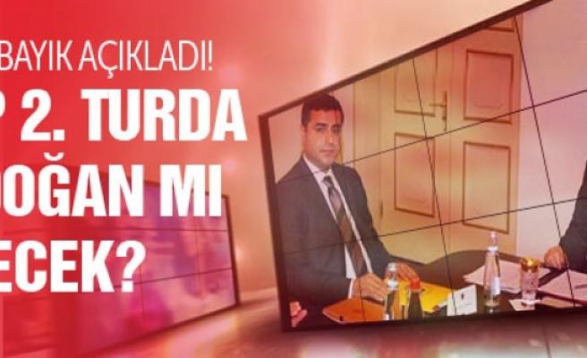 HDP 2. turda Erdoğan mı diyecek? Cemil Bayık açıkladı!