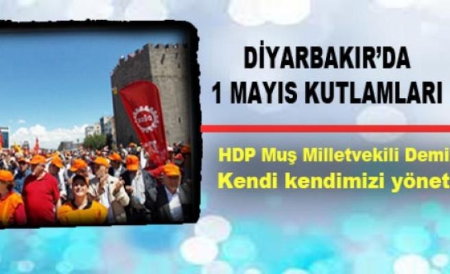 HDP Muş Milletvekili Demir Çelik: Kendi kendimizi yöneteceğiz