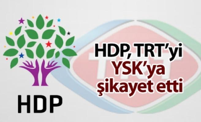 HDP, TRT'nin muhalif partilere yer vermemesini YSK'ye şikayet etti