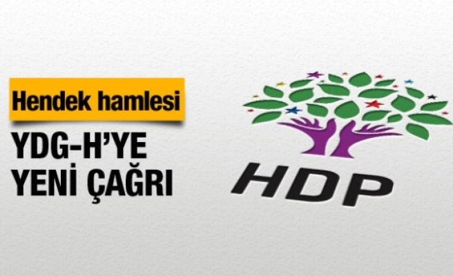 HDP'den hendek hamlesi YDG-H'ye yeni çağrı