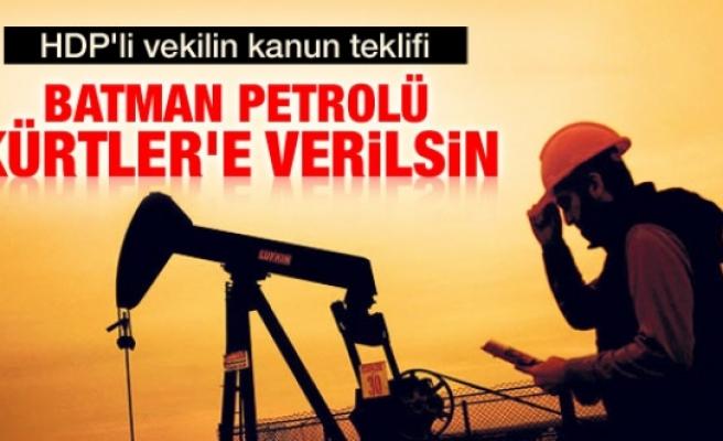 HDP'li vekil Ata'dan petrol payı talebi