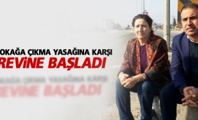 HDP'li vekiller sokağa çıkma yasağına karşı açlık grevine başladı