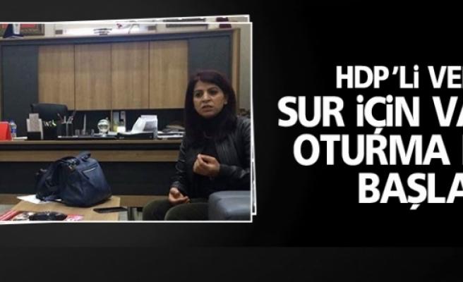 HDP'li vekiller Sur için valilikte oturma eylemi başlattı