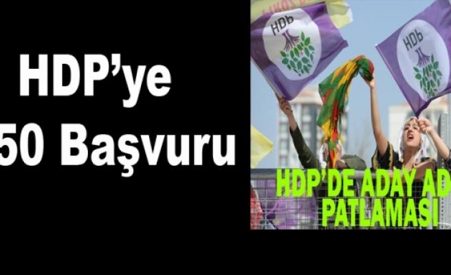 HDP'ye 250 Başvuru