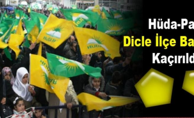 Hüda-Par Dicle İlçe Başkanı Kaçırıldı