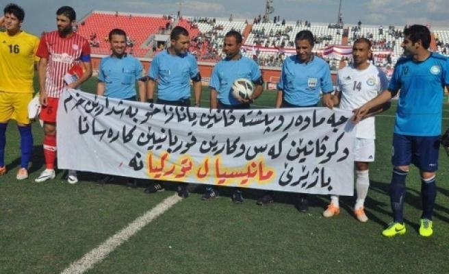 Irak Futbol Ligi Soma'yı Unutmadı