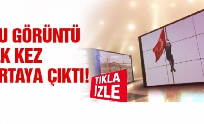 İşte Lice'deki Türk bayrağı böyle indirildi