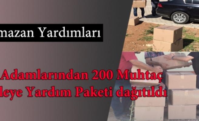İş Adamlarından Ramazan Yardımı