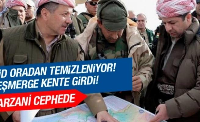 IŞİD Şengal'den temizleniyor! Barzani cephede!