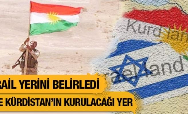 İsrail yerini belirledi! Kürdistan devleti nerede kurulacak?