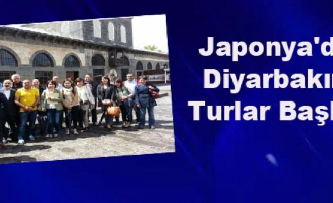 Japonya'dan Diyarbakır'a Turlar Başlıyor
