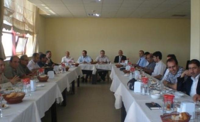 Kamu Hastaneler Birliği Genel Sekreteri Kurtoğlu Stk Temsilcileriyle Buluştu