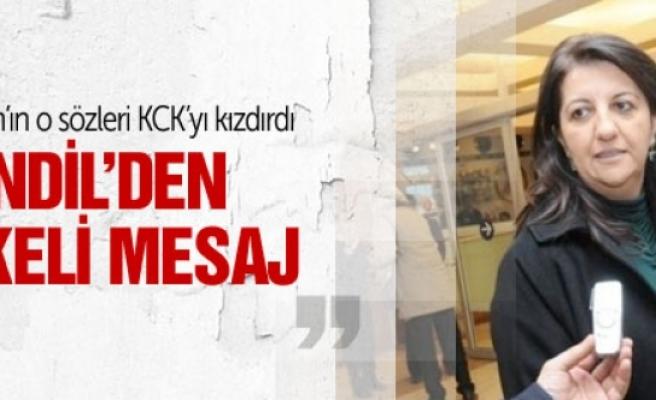 Kandil'den Erdoğan'a öfkeli mesaj