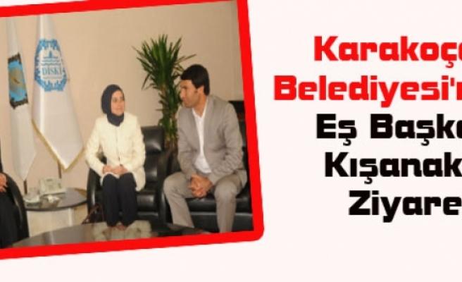 Karakoçan Belediyesi'nden Kışanak'a Ziyaret