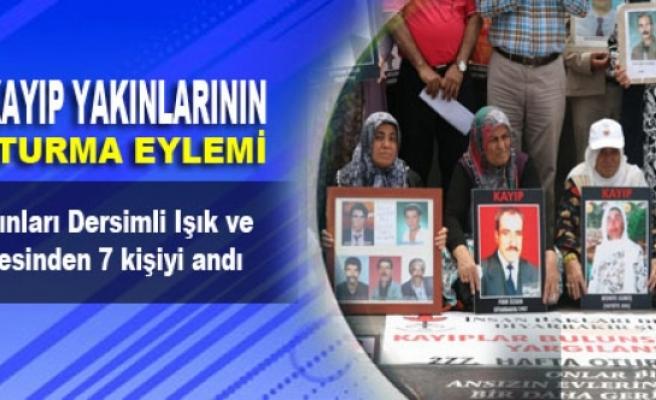 Kayıp yakınları Dersimli Işık ve Serin ailesinden 7 kişiyi andı