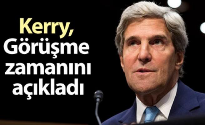 Kerry: Suriye görüşmelerinin tarihi, toplantının ardından netleşecek