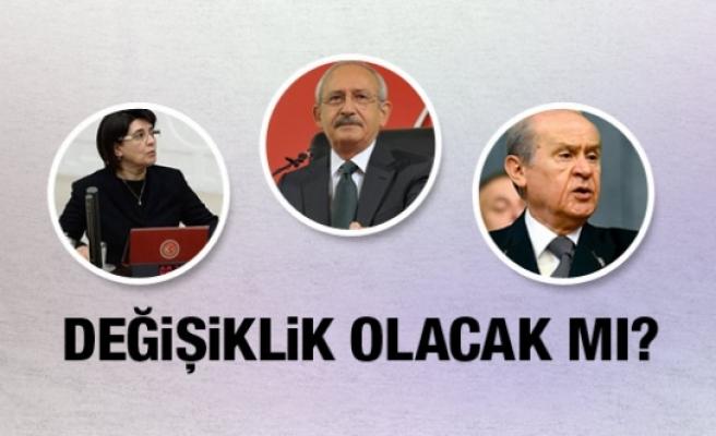 Kılıçdaroğlu ve Bahçeli'den yemin açıklaması