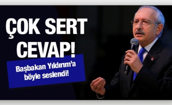 Kılıçdaroğlu'ndan Başbakan'a cevap!