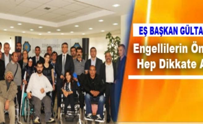 Kışanak: Engellilerin Önerilerini Hep Dikkate Alacağız