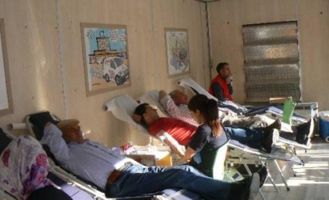 Kulp'ta Kan Bağışı Kampanyası