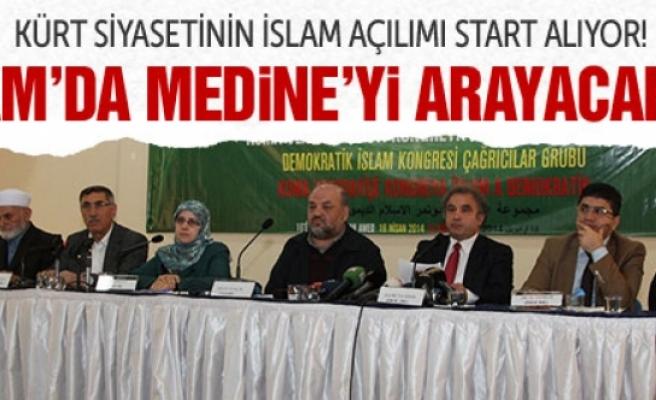 Kürtler İslam'da Medine'yi arayacak!