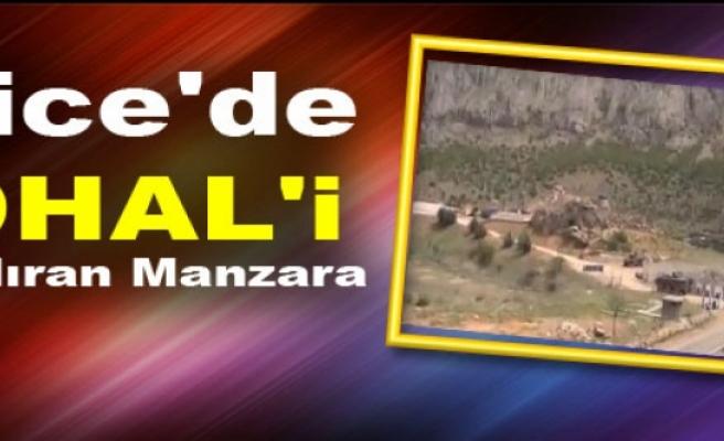 Lice'de OHAL'i Andıran Manzara