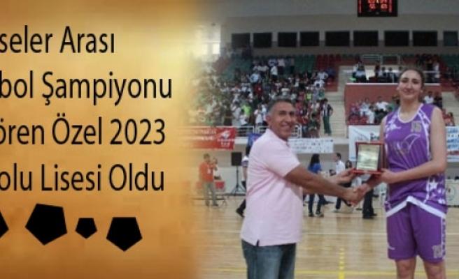 Liseler Arası Basketbol Şampiyonu Güngören Özel 2023 Anadolu Lisesi Oldu