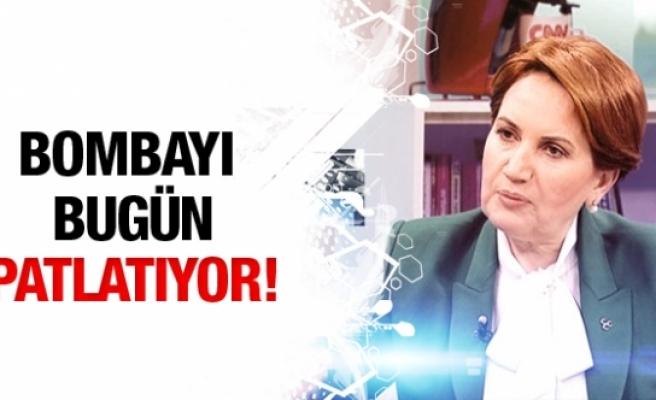 Meral Akşener bugün bombayı patlatıyor!