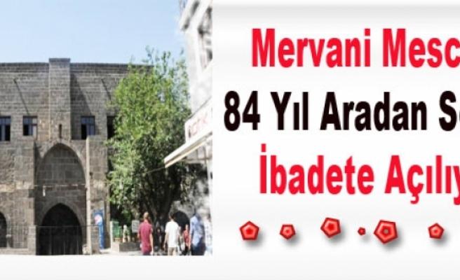 Mervani Mescidi 84 Yıl Aradan Sonra İbadete Açılıyor
